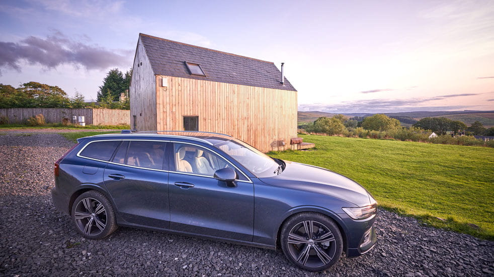 Volvo review: volvo parked